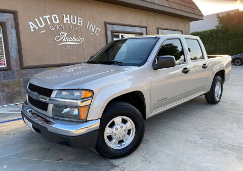 2005 Chevrolet Colorado for sale at Auto Hub, Inc. in Anaheim CA