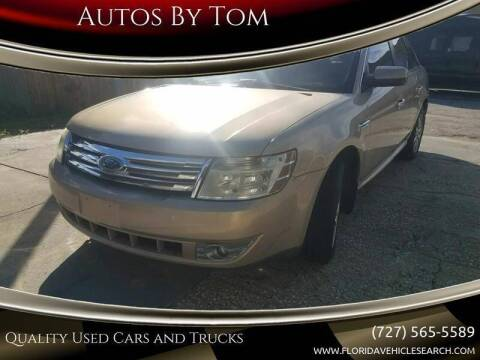 2008 Ford Taurus for sale at Autos by Tom in Largo FL