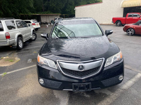 2014 Acura RDX for sale at J Franklin Auto Sales in Macon GA