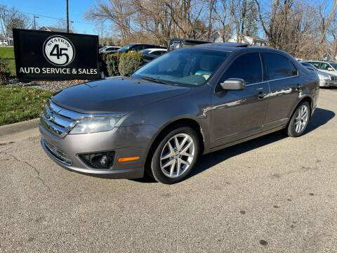 2012 Ford Fusion for sale at Station 45 Auto Sales Inc in Allendale MI