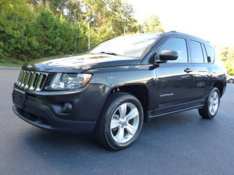 2011 Jeep Compass for sale at RUSTY WALLACE KIA OF KNOXVILLE in Knoxville TN