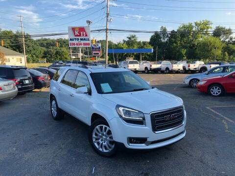 2016 GMC Acadia for sale at KB Auto Mall LLC in Akron OH