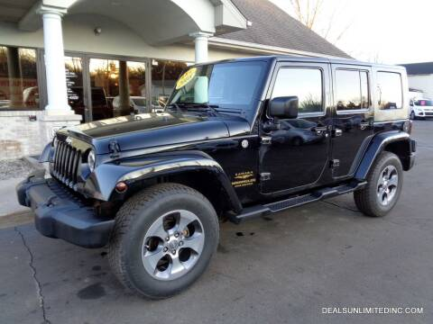 2008 Jeep Wrangler Unlimited for sale at DEALS UNLIMITED INC in Portage MI