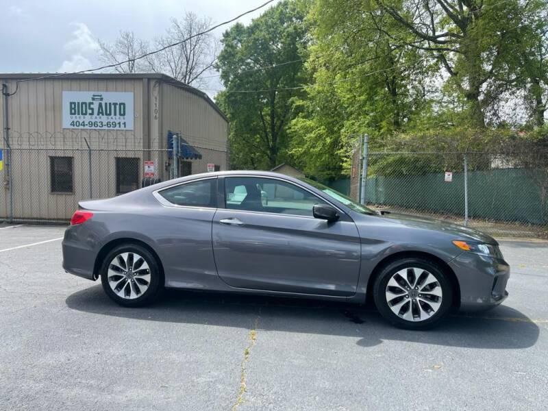 2014 Honda Accord for sale at BIOS AUTO Used Car Sales in Atlanta GA