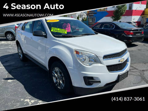 2012 Chevrolet Equinox for sale at 4 Season Auto in Milwaukee WI