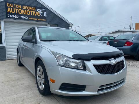 2012 Chevrolet Cruze for sale at Dalton George Automotive in Marietta OH