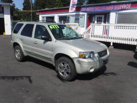 2005 Ford Escape for sale at 777 Auto Sales and Service in Tacoma WA