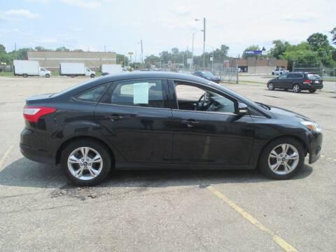 2013 Ford Focus for sale at Summit Auto Sales Inc in Pontiac MI