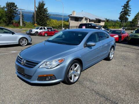 2012 Volkswagen CC for sale at KARMA AUTO SALES in Federal Way WA