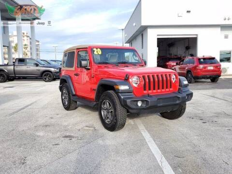 2020 Jeep Wrangler for sale at GATOR'S IMPORT SUPERSTORE in Melbourne FL