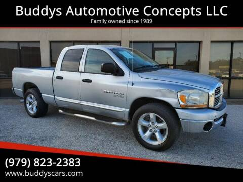 2006 Dodge Ram Pickup 1500 for sale at Buddys Automotive Concepts LLC in Bryan TX
