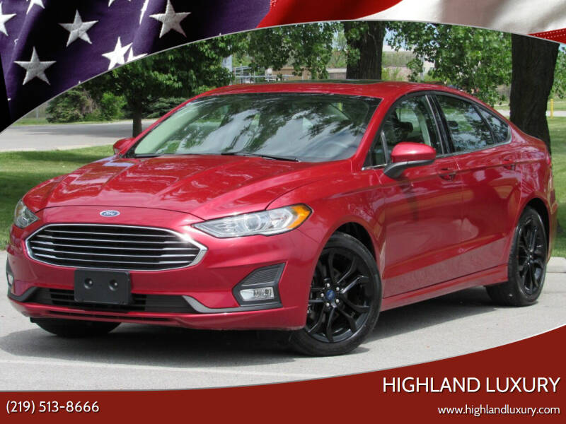 2020 Ford Fusion for sale at Highland Luxury in Highland IN