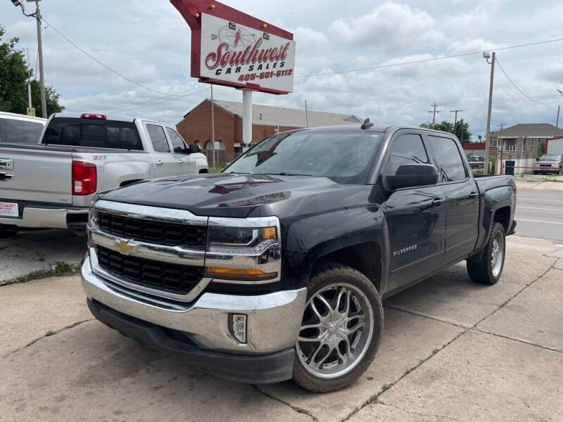 2017 Chevrolet Silverado 1500 for sale at Southwest Car Sales in Oklahoma City OK