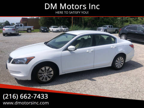 2009 Honda Accord for sale at DM Motors Inc in Maple Heights OH