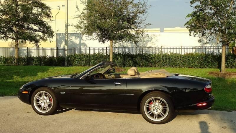 2001 Jaguar XK-Series for sale at Premier Luxury Cars in Oakland Park FL