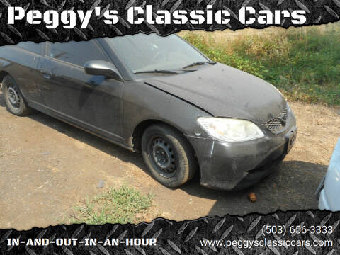 2001 Honda Civic for sale at Peggy's Classic Cars in Oregon City OR