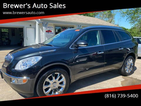 2012 Buick Enclave for sale at Brewer's Auto Sales in Greenwood MO