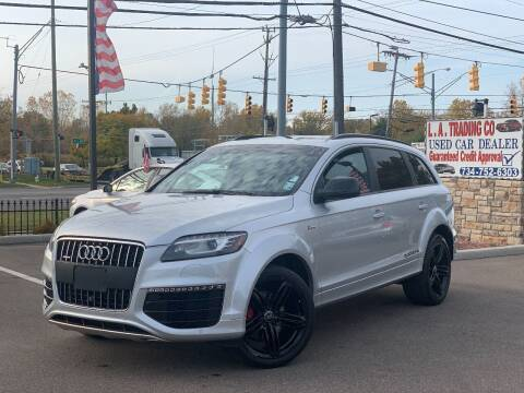 2015 Audi Q7 for sale at L.A. Trading Co. in Woodhaven MI