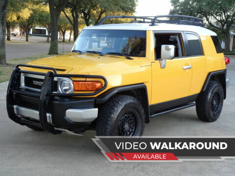 2007 Toyota FJ Cruiser for sale at Auto Starlight in Dallas TX