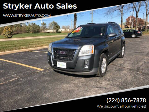 2010 GMC Terrain for sale at Stryker Auto Sales in South Elgin IL