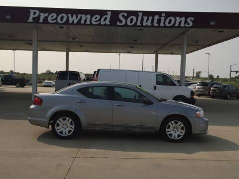 2013 Dodge Avenger for sale at Preowned Solutions in Urbandale IA