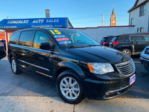 2015 Chrysler Town and Country for sale at Gonzalez Auto Sales in Joliet IL