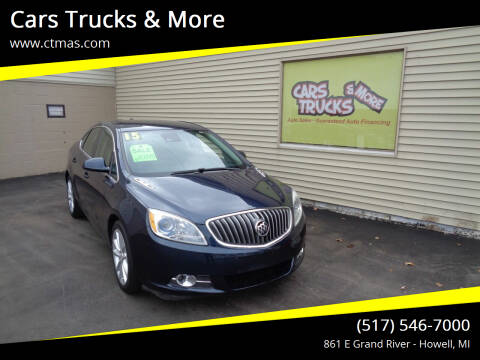 2015 Buick Verano for sale at Cars Trucks & More in Howell MI