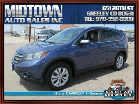2014 Honda CR-V for sale at MIDTOWN AUTO SALES INC in Greeley CO