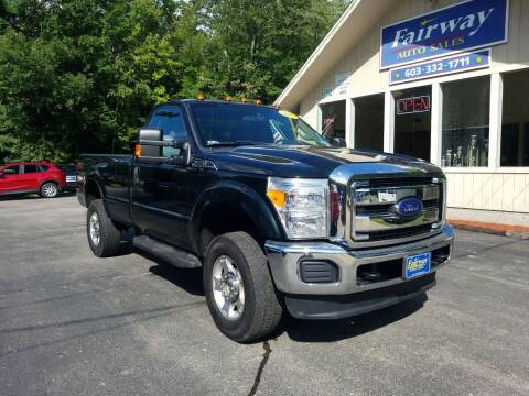 2015 Ford F-250 Super Duty for sale at Fairway Auto Sales in Rochester NH