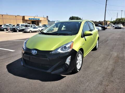 2015 Toyota Prius c for sale at Image Auto Sales in Dallas TX