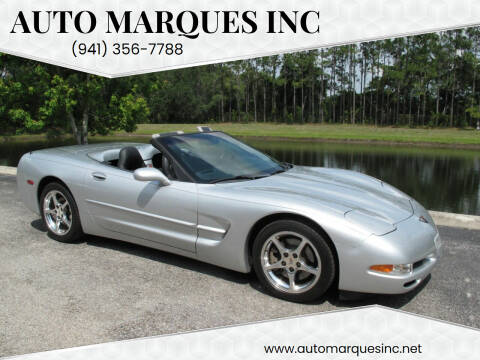 2002 Chevrolet Corvette for sale at Auto Marques Inc in Sarasota FL