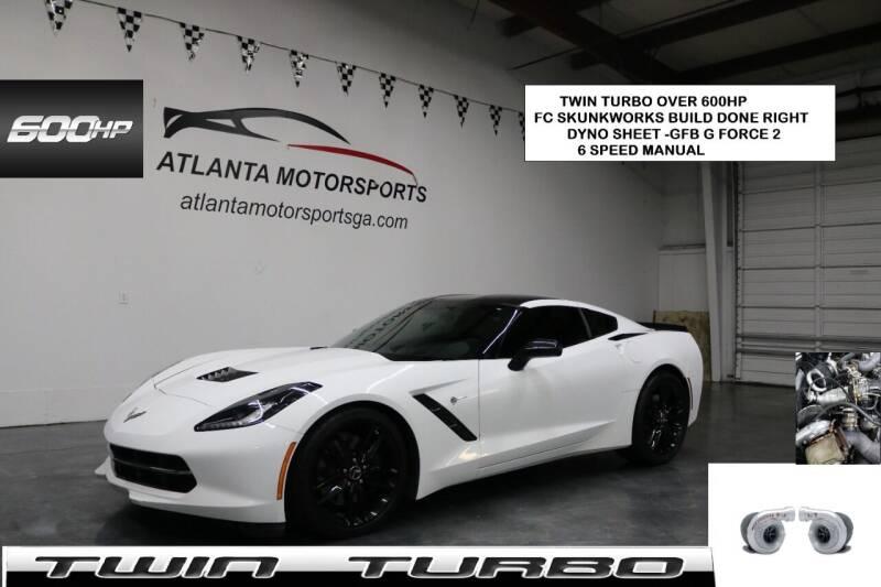 2015 Chevrolet Corvette for sale at Atlanta Motorsports in Roswell GA