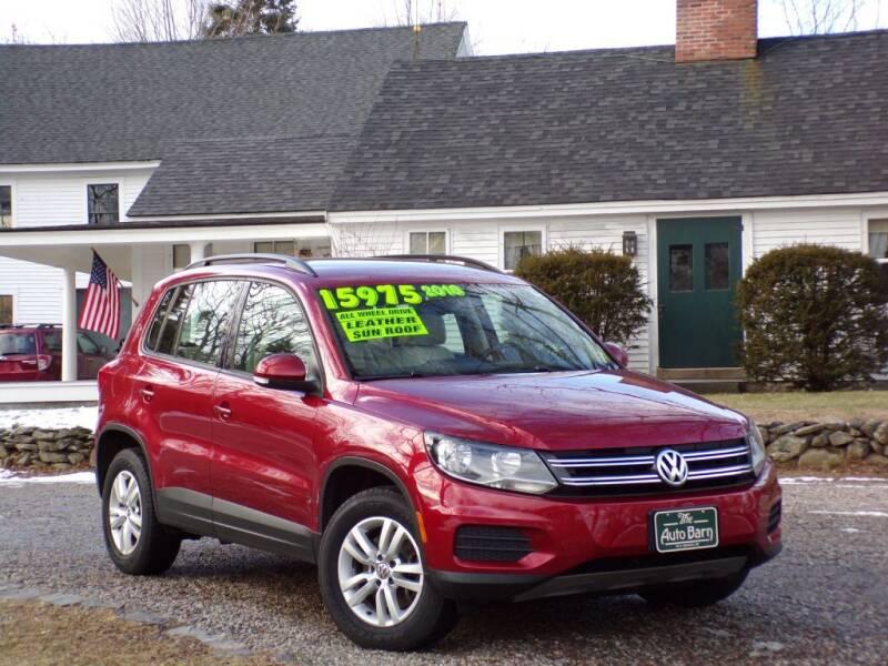 2016 Volkswagen Tiguan for sale at The Auto Barn in Berwick ME