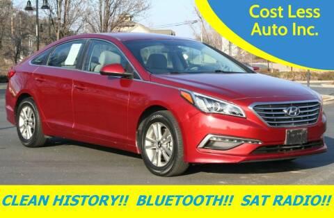 2015 Hyundai Sonata for sale at Cost Less Auto Inc. in Rocklin CA