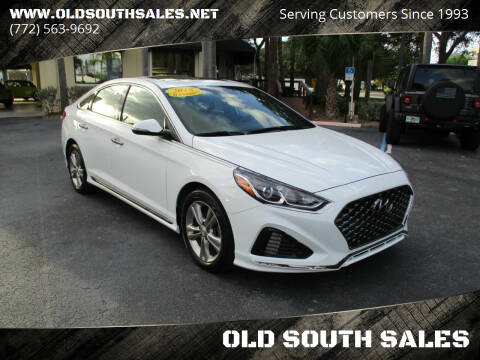 2018 Hyundai Sonata for sale at OLD SOUTH SALES in Vero Beach FL