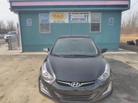 2016 Hyundai Elantra for sale at E & H Auto Sales in South Haven MI