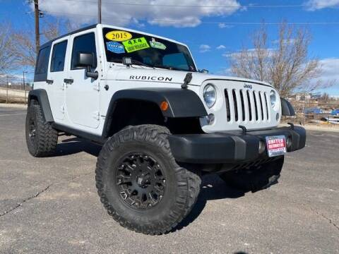 2015 Jeep Wrangler Unlimited for sale at UNITED Automotive in Denver CO