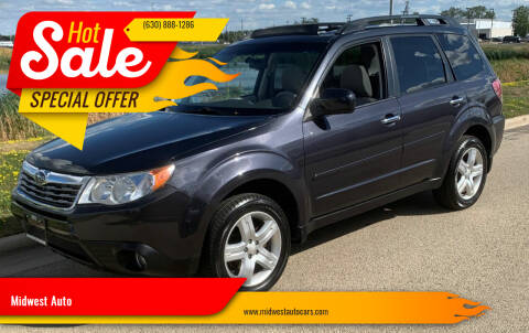 2009 Subaru Forester for sale at Midwest Auto in Naperville IL