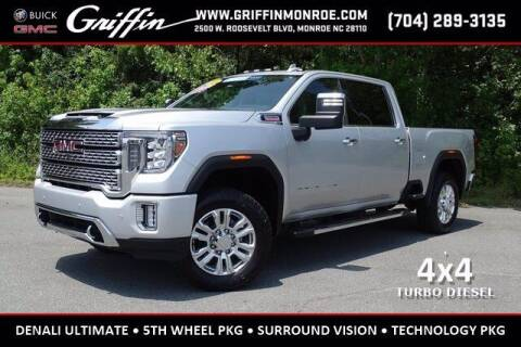 2020 GMC Sierra 2500HD for sale at Griffin Buick GMC in Monroe NC