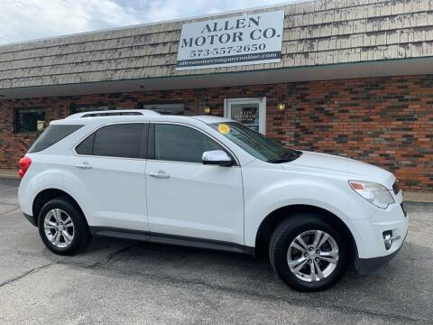 2013 Chevrolet Equinox for sale at Allen Motor Company in Eldon MO