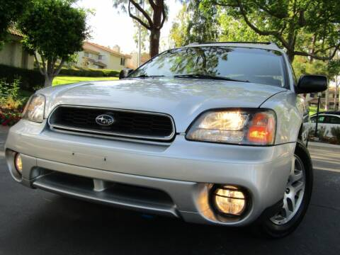 2004 Subaru Outback for sale at E MOTORCARS in Fullerton CA