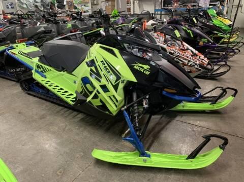 2020 Arctic Cat Riot X 8000 Hyper Green/Electr