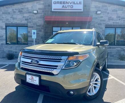 2013 Ford Explorer for sale at GREENVILLE AUTO in Greenville WI