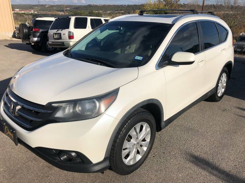 2014 Honda CR-V for sale at Central Automotive in Kerrville TX