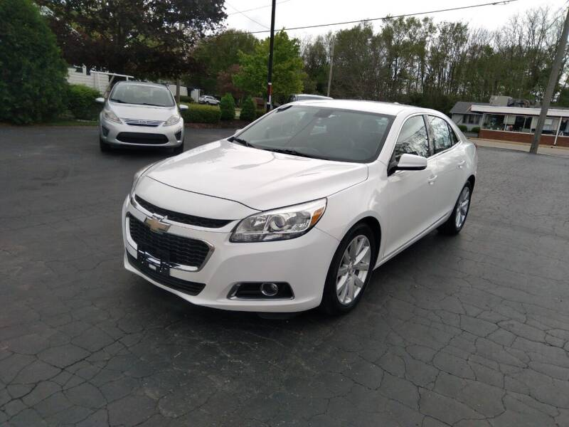 2015 Chevrolet Malibu for sale at Keens Auto Sales in Union City OH