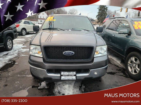 2005 Ford F-150 for sale at MAUS MOTORS in Hazel Crest IL