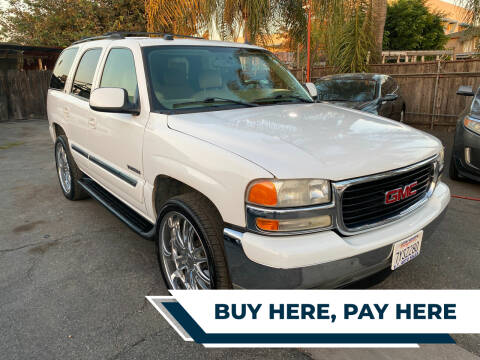 2005 GMC Yukon for sale at E.T. Auto Sales Inc. in El Monte CA
