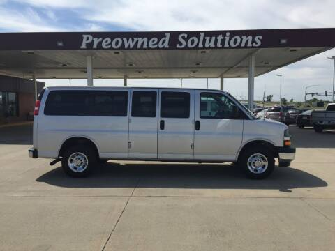 2018 Chevrolet Express Passenger for sale at Preowned Solutions in Urbandale IA
