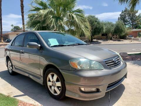 2007 Toyota Corolla for sale at CORTES MOTORS in Las Vegas NV