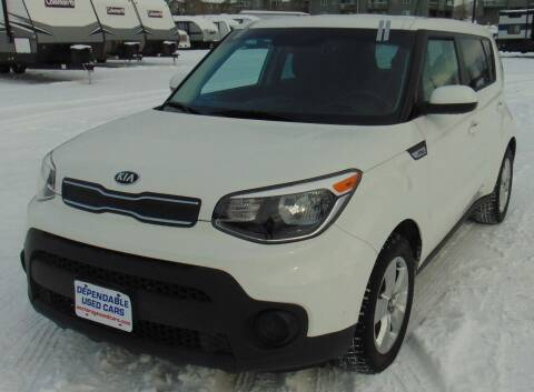 2018 Kia Soul for sale at Dependable Used Cars in Anchorage AK